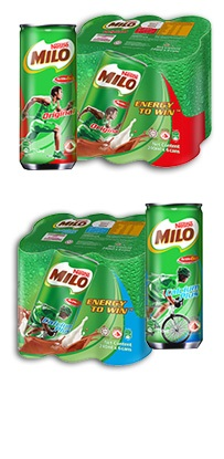 MILO Canned Drinks