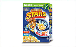 New NESTLÉ HONEY STARS with Galaxy Shapes