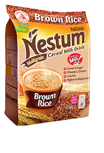 NESTUM Brown Rice Cereal Milk Drink