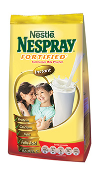 Nespray Fortified Full Cream Milk