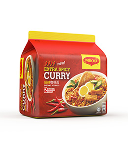 MAGGI 2-Min Extra Spicy Curry Noodle