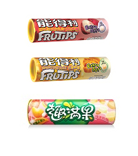 NEW FRUITIPS Tropical, Mango and Lychee