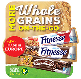 NEW Nestle Breakfast Cereal Bars- MADE IN EUROPE!