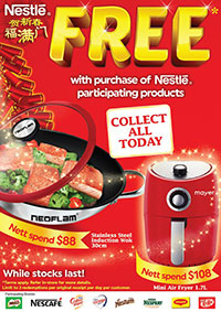 FREE Branded Kitchenware When You Shop With Nestlé