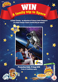 WIN OMNI-THEATRE SINGAPORE TICKETS FOR YOUR FAMILY!