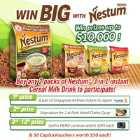 WIN BIG WITH NESTUM!