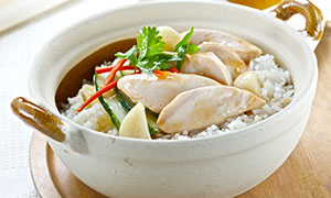 Fragrant Chicken Rice