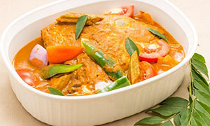 INDIAN STYLE HEALTHY FISH  HEAD CURRY