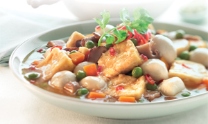 Hearty Beancurd Stew