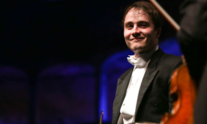 Ben Gernon, winner of the 2013 Nestlé and Salzburg Festival Young Conductor's Award