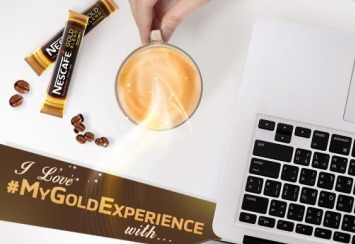 Hashtag #MyGoldExperience & Stand to Win NESCAFÉ<sup>®</sup> GOLD Blend Hamper (worth $80) today!