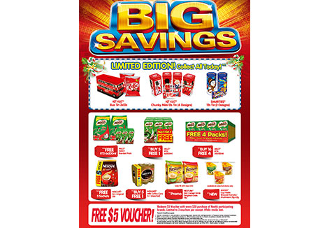 Big Savings – Vouchers up for grabs!