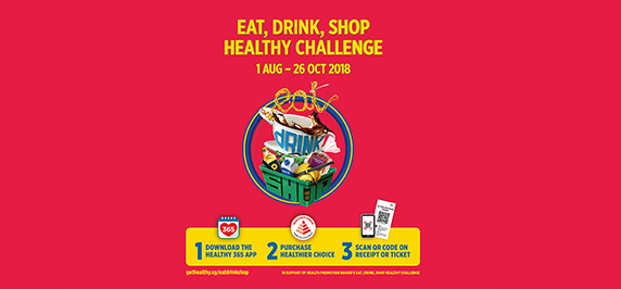 Eat, drink, and shop with Nestlé!
