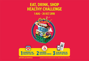 Eat, drink, and shop healthy with Nestlé!