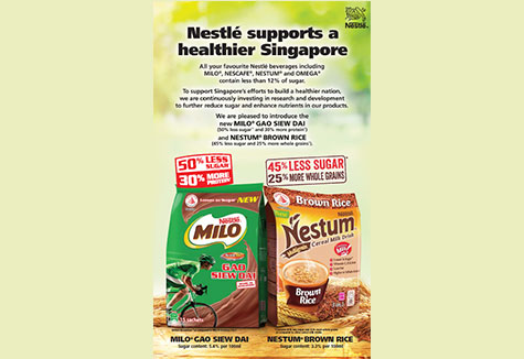 Nestle Supports a Healthier Singapore
