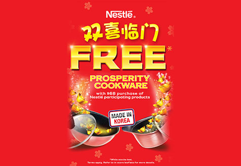 FREE Prosperity Cookware With Every $68 Spent!