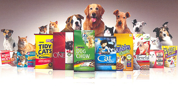selection of Nestlé Purina Petcare products