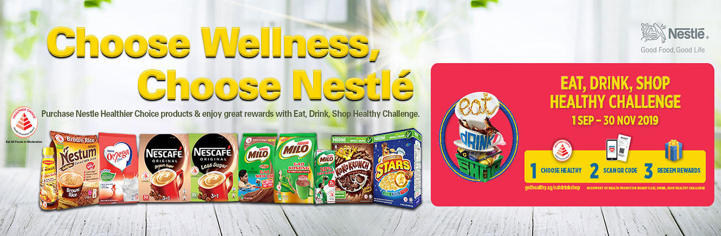 Healthy Living Starts with Nestlé