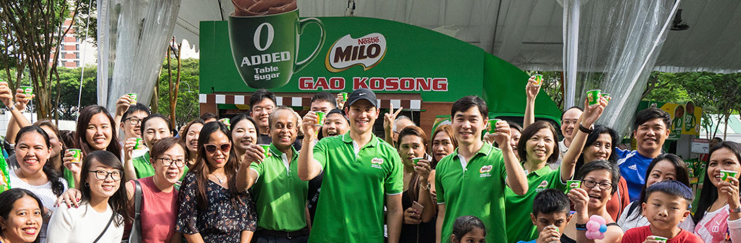 New MILO<sup>®</sup> Gao Kosong, the world's first MILO<sup>®</sup> with no added table sugar