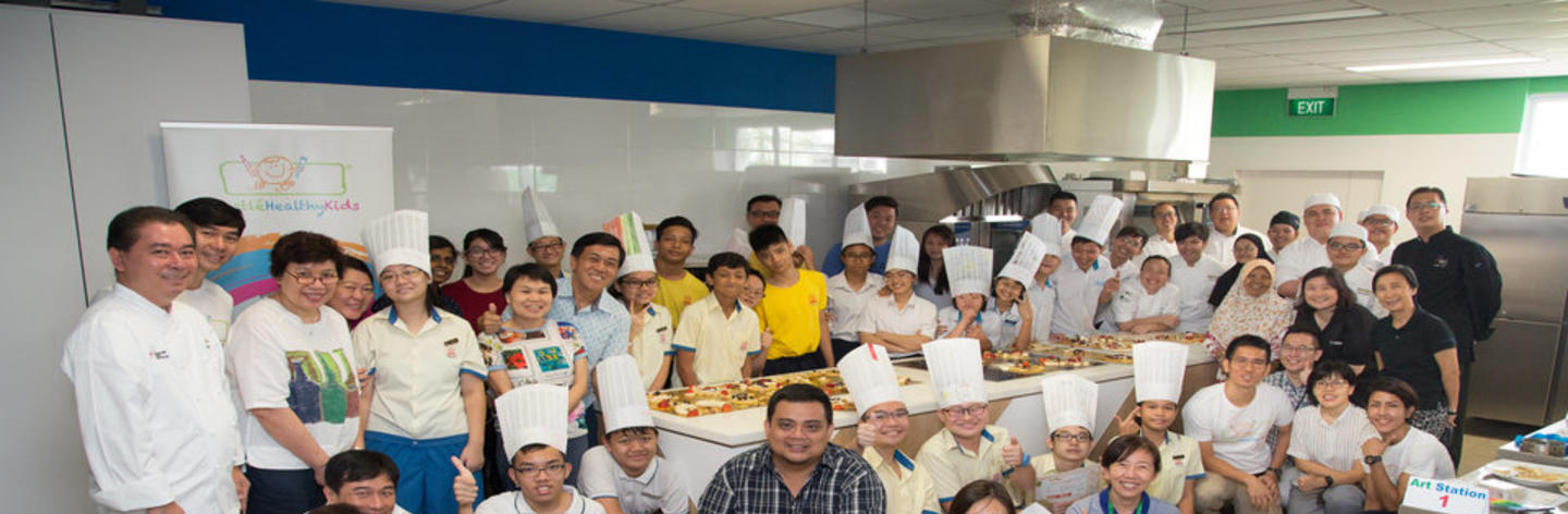 Nestlé Healthy Kids teams up with Singapore chefs to pay it forward