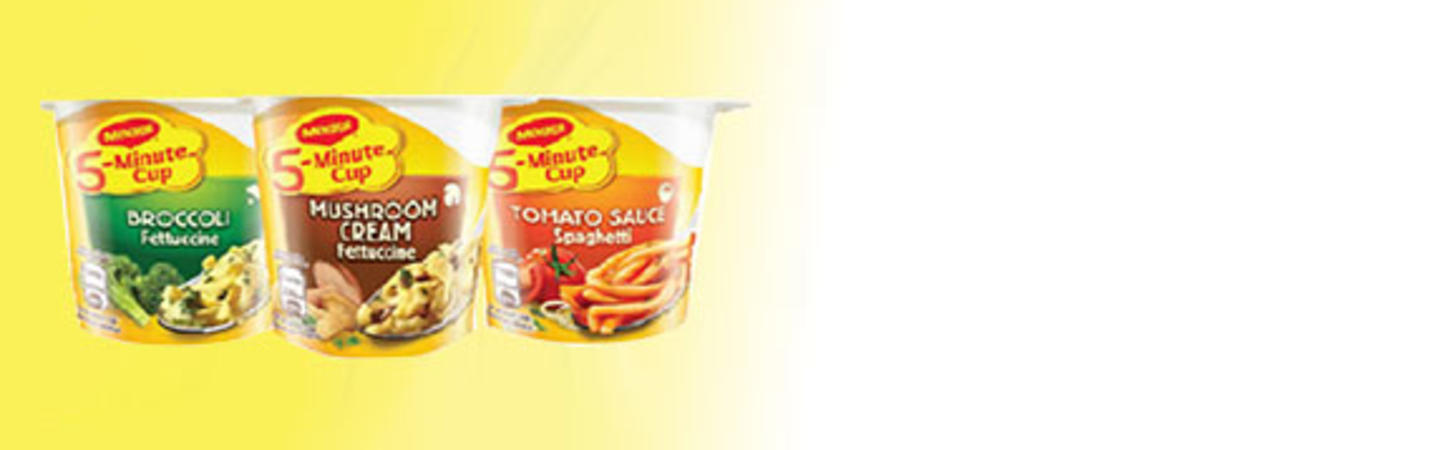 MAGGI<sup>®</sup> 5-Minute Cup Pasta