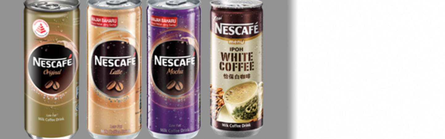 NESCAFÉ Ready To Drink Coffee Cans