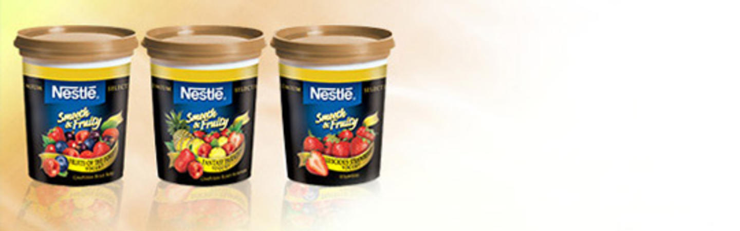 NESTLÉ Smooth & Fruity Yogurt